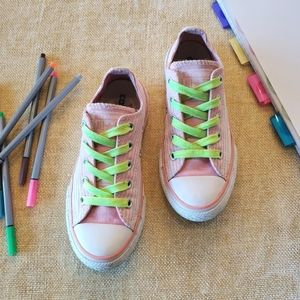 Converse Kids 12.5 All Star Pink/White